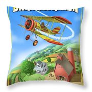 Barnstormer Throw Pillow