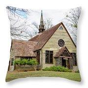 Barnwell Chapel Throw Pillow