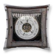 Barometer Throw Pillow