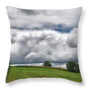 Barre Clouds 2181 Throw Pillow
