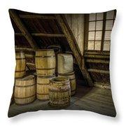 Barrel Casks Throw Pillow