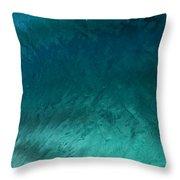 Barrel Swirl  -  Triptych  Part 3 Of 3 Throw Pillow