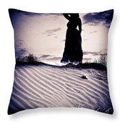 Barren Dream Throw Pillow