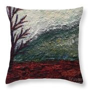 Barren Landscapes Throw Pillow