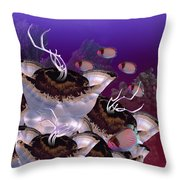 The Jeuter Barrier Reef  Throw Pillow