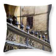 Barriers And Openings Throw Pillow