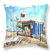 Barril Beach 05 Throw Pillow