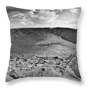 Barringer Meteor Crater #2 Throw Pillow