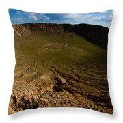 Barringer Meteor Crater #3 Throw Pillow