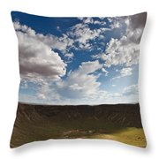 Barringer Meteor Crater #4 Throw Pillow