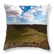 Barringer Meteor Crater #5 Throw Pillow