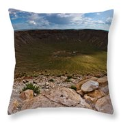 Barringer Meteor Crater #6 Throw Pillow