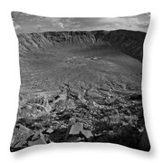 Barringer Meteor Crater #7 Throw Pillow