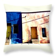 Barrio Viejo 1 Throw Pillow