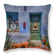 Barrio Viejo With Character Throw Pillow