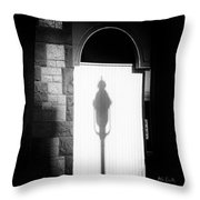 Barristers Window Throw Pillow