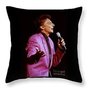 Barry Manilow-0784 Throw Pillow