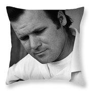Barry Sadler 1 With Guitar Tucson Arizona 1971 Throw Pillow