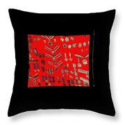 Barry Sadlers Nazi Medals Collection Throw Pillow
