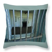 Bars And Fireplace - Fort Rucker Area Throw Pillow