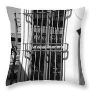 Bars Throw Pillow
