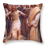 Bartimaeus Throw Pillow