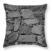 Basalt Wall Throw Pillow
