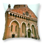 Bascila St. Antonia In Padua, Italy Throw Pillow