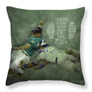 Baseball 01 Throw Pillow