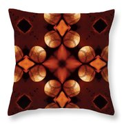 Baseball Cross Throw Pillow