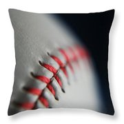 Baseball Fan Throw Pillow
