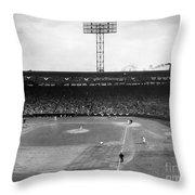 Baseball: Fenway Park, 1956 Throw Pillow