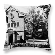 Baseball Hall Of Fame Throw Pillow by Granger