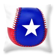 Baseball Star Throw Pillow