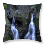 Bash Bish Falls Throw Pillow