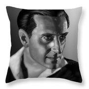 Basil Rathbone Throw Pillow