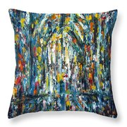 Basilica 2 Throw Pillow