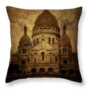 Basilica Throw Pillow by Andrew Paranavitana