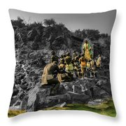 Basilica De Guadalupe 8 Throw Pillow