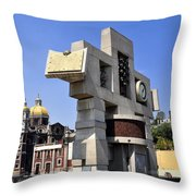 Basilica Of Our Lady Guadalupe 4 Throw Pillow