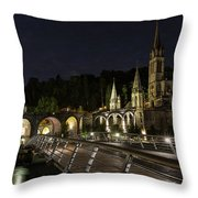 Basilica Of The Immaculate Conception Throw Pillow