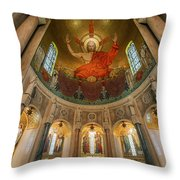 Basilica Of The National Shrine Throw Pillow