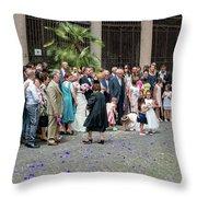 Basilica Santi Giovanni E Paolo Throw Pillow