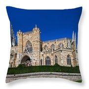 Basilique Notre - Dame De L'epine Throw Pillow