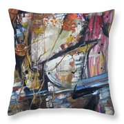 Basket-boll Dreams Throw Pillow