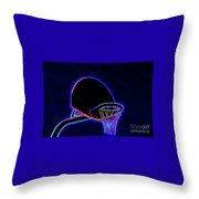 Basketball 121617-1 Throw Pillow