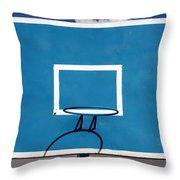 Basketball Backboard Throw Pillow