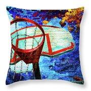 Basketball Dream Throw Pillow