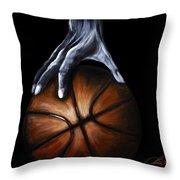 Basketball Legend Throw Pillow