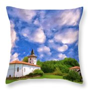 Basque Country Throw Pillow